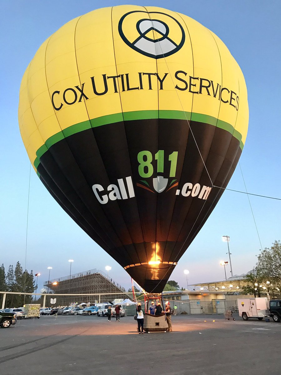 811 Hot Air Balloon